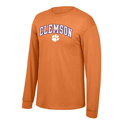 eLITe Fan Shop NCAA Long Sleeve Shirt Team Farbe Arch, Herren, NCAA Long Sleeve Shirt Team Color Arch, Orange, Large (Dart Cover Board)