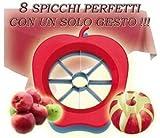 Apfelteiler und coupe-légume bis 8Viertel aus Edelstahl