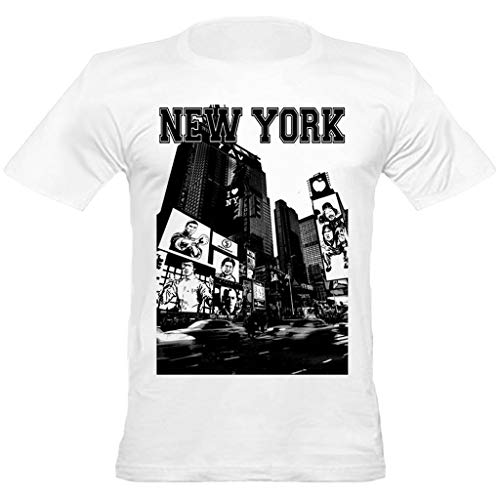 urban shaolin Men's Kung Fu All Stars In NY Bruce Lee, Jackie Chan, Sammo Hung, Donnie Yen, Fitted T shirt, White