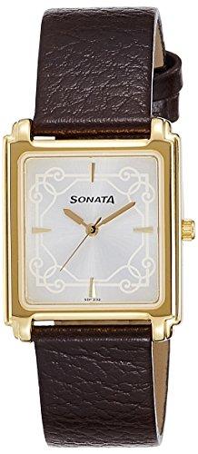 41MWljCSP%2BL - Sonata 7053YL08 Silver Mens watch