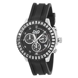 Dolce & Gabbana - DW0410 - Montre Femme - Chronographe - Bracelet Caoutchouc