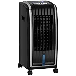 Climatiseur 4 en 1 Ventilateur ionisateur humidificateur purificateur d'air 7 L