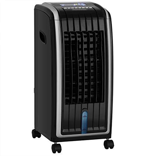 Monzana Luftbefeuchter 4in1 7L Tank Timer 3 Stufen LED Display Mobiles Klimagerät Ventilator Klimaanlage Ionisator Luftkühler