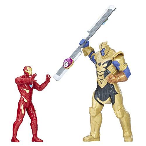 Hasbro Avengers E0559EW0 - Marvel 6 Zoll Thanos Actionfiguren-Spielset, Battle-Set Preisvergleich