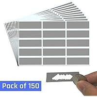 DIY Tarjeta Rasca (Scratch Card) Rectángulo Etiqueta - Paquete de 150