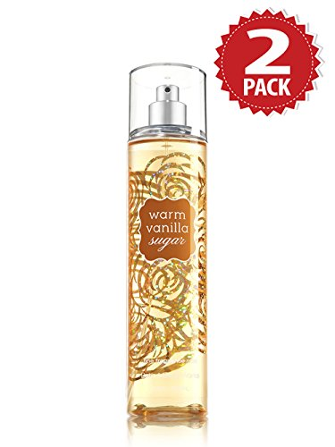 Bath & Body Works Körperspray 2er Pack - Warm Vanilla Sugar (2x236ml)
