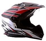 Yamaha YR8 Motocross Helmet Black Grey
