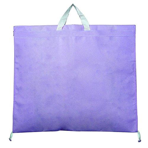 HIMRY Kaxin KXB-101–Bolsa portatrajes (para vestidos de novia o de fiesta, trajes, abrigos, aprox. 180cm, cierre de cremallera, 2bolsillos para accesorios–Lila, kxb101Rosa