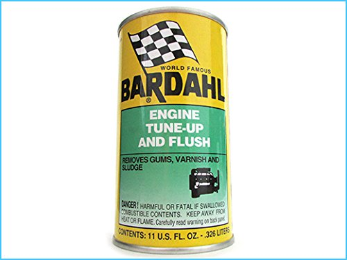 BARDAHL Engine Tune Up & Flush Additivi Per Olio Motore Rimuove Depositi 326 ML