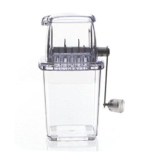 Picadora de hielo - Máquina para hacer hielo picado - Color TRANSPARE