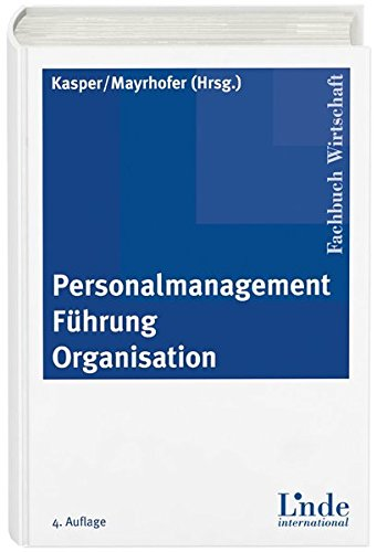 Personalmanagement - Führung - Organisation