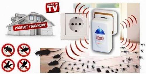 Pest Reject dispositivo repelente de ratas y insectos
