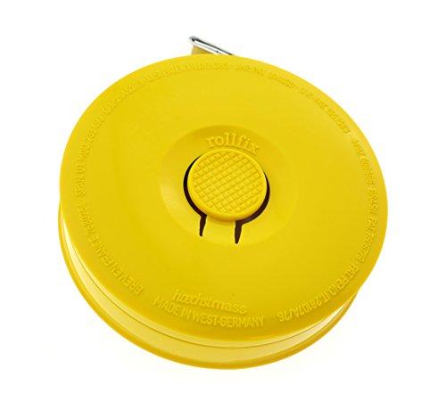 hoechstmass-balzer-80206y-rollmassband-rollfix-150-cm-60-zoll-massband-abs-polyfibre-gelb-5-0-x-5-0-x-1-4-cm-1