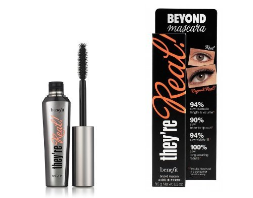 Benefit Beyond Mascara They´re Real Mascara Farbe: Black Inhalt: 8,5g Wimperntusche für strahlen...