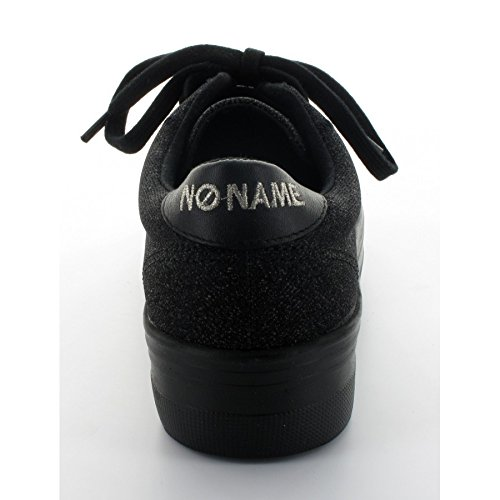 Basket No Name Plato Sneaker Strass Noir Noir
