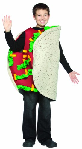 Rasta Imposta Taco Kind Kinderkostüm, 7-10, Multicolor