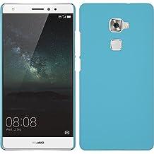 Funda Rígida para Huawei Mate S - goma azul claro - Cover PhoneNatic Cubierta + protector de pantalla