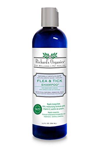 SynergyLabs Richard's Organics Flea & Tick Shampoo; 12 fl. oz. 1