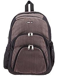 7e91ce2b2af1 BagsRUs Atlas Brown Polyester 18 Liter 15.6 Inch Laptop Backpack Travel Bag  (LB118FBR)
