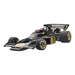 AUTOart- 87328–Lotus 72E mit Treiber–1973–Schwarz/Gold–Maßstab 1/18