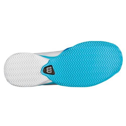 Wilson Rush Pro CC Tennisschuhe für Damen weiß blau