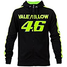 Valentino Rossi VR46 Moto GP Zip Capucha Negro Oficial 2017