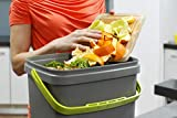 Bokashi 019750029 Composteur Organico & Activateur, Gris/Vert