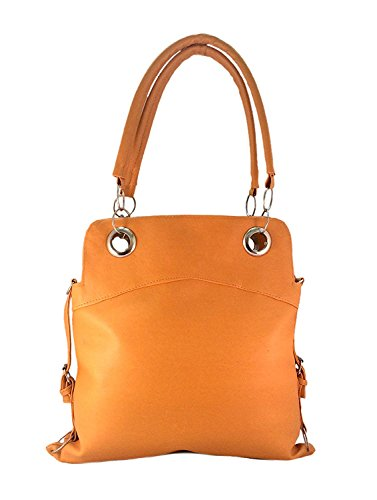 Deal Especial Brown Stylish Three stap look Big Women Handbag
