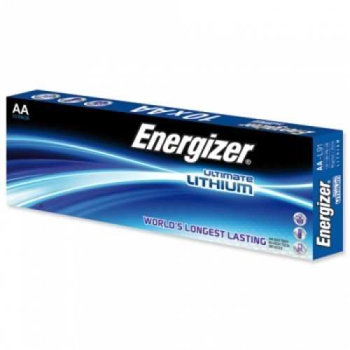Energizer Ultimate Lithium L91 Batterie 10er Pack, Li-FeS 2, 1,5V