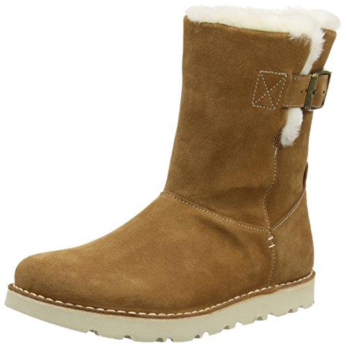 Birkenstock Shoes Westford Damen, Damen Halbschaft Stiefel, Braun (Nut Lammfell), 41 EU