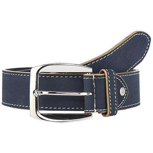 Titan Mens Leather Buckle Closure Casual Belt