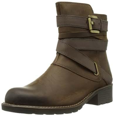 Clarks Orinoco Sash, Damen Kurzschaft Stiefel, Braun (Brown Leather), 35.5 EU (3 Damen UK)