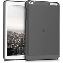 kwmobile Crystal Case para > Huawei MediaPad T1 10 < Funda de silicona TPU - Funda protectora para tablet, fina en negro transparente