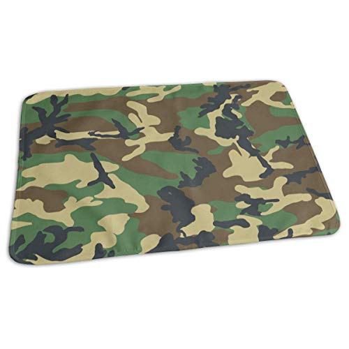 uflage Grün Military Camo Print Windel Wickelauflage Matten für Jungen Mädchen, 25,5