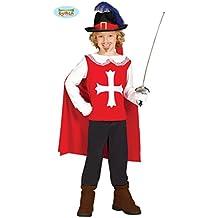 Guirca Costume vestito D Artagnan moschettiere carnevale bambino 8568  7-9  anni 7e6c045d90e3