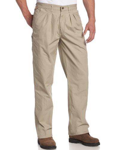 Wrangler Herren Rugged Wear Angler Relaxed Fit Jeans - Khaki - 33W / 32L -