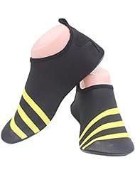 Fortuning's JDS Suela duradera Buceo Aqua Zapatos de piel Calcetines deportivos de verano Yoga transpirable Piscina playa En el surf Deportes acuáticos Calzado