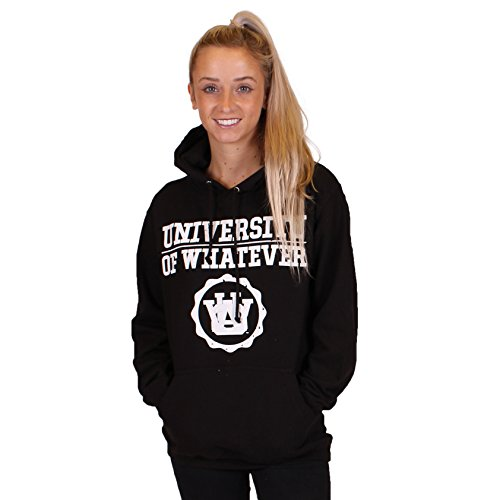 UOW - Sweat à capuche - À logo - Femme Basics Black