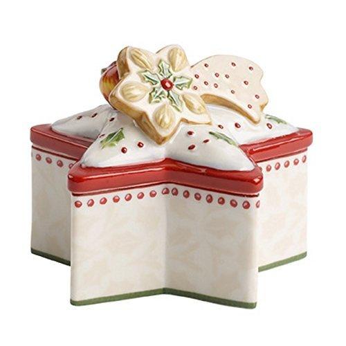 Villeroy and Boch Winter Bakery aodquote*dquoteao caja de decoración para árbol de Navidad Mini