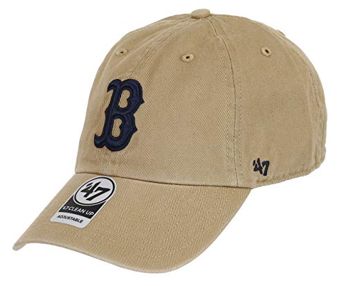 47 Brand Casquette Clean Up Red Sox strapback cap (taille unique - khaki) 54d4b397d6d