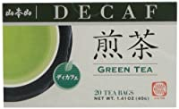Yamamotoyama Decaffeinated Green Tea Sencha, 1.41-Ounce Boxes (Pack of 6)
