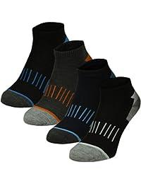 6 | 12 | 18 | 24 | 36 oder 48 Paar Herren Freizeit Sport Sneakers 4 verschiedene dunkle Farben - Qualität von Lavazio®