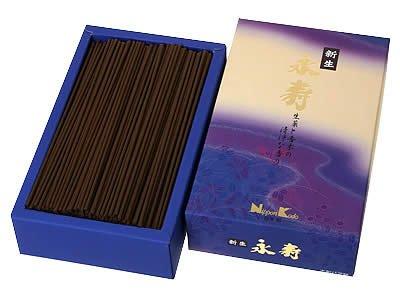 NIPPON Kodo 22042Eiju Shinsei Hierbas y balsámico y Madera Incienso 17x 10x 4cm, Color Morado