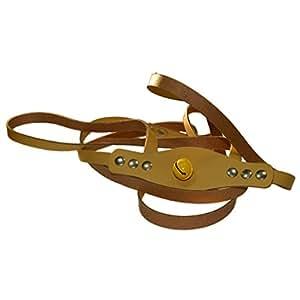 pferdchen spiele pferdeleine pferdegeschirr aus leder mit gl ckchen zum spielen f r kinder. Black Bedroom Furniture Sets. Home Design Ideas