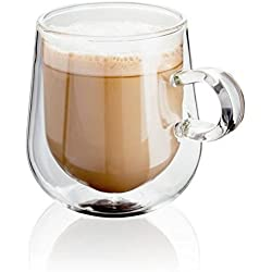 Judge, JDG35, Double Walled latte Glasses 275ml , Set of 2