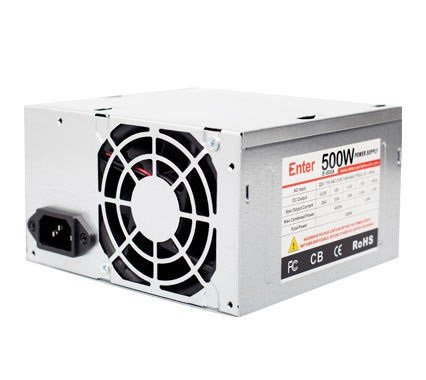 Enter E-500R Computer Power Supply 500W