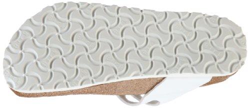 Birki MILOS White Milos, Chaussures mixte adulte Blanc-TR-F5-28