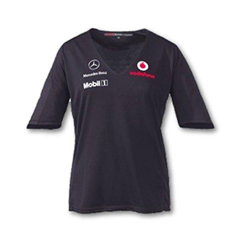 vodafone-mclaren-mercedes-f1-v06lt1-femmes-2011-equipe-t-shirt-noir-large