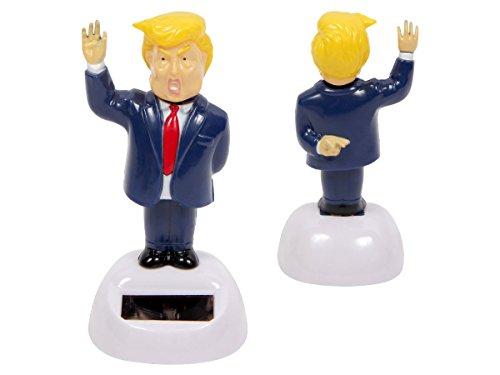olar Mr. President winkend Präsident der USA Figur 11 cm Solarfigur - Keine Batterien notwendig 57/9801 (Geburtstag Deko Ideen Im Haus)