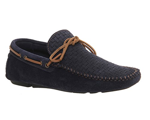 Ask The Missus, Sneaker uomo Blu (Blu navy Suede)